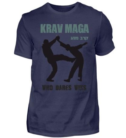 Krav Maga - Who Dares Wins - Herren Shirt-198