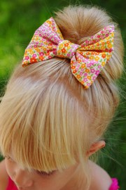 sew hair bows - crafts