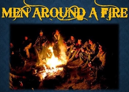 Men Around a Fire | TCC Men's Event