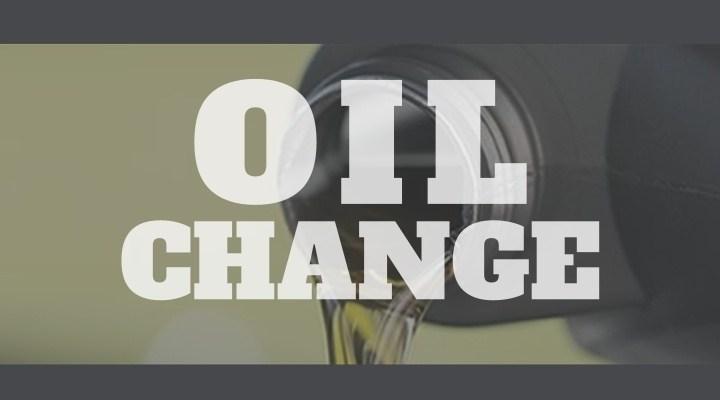 Banner for 2021 TCC Men's Oil Change Event