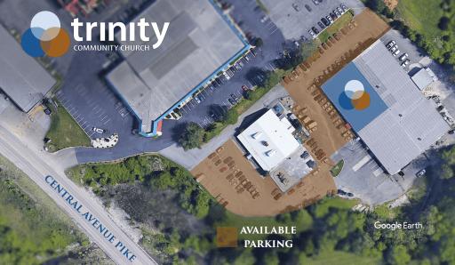TCC Parking Map