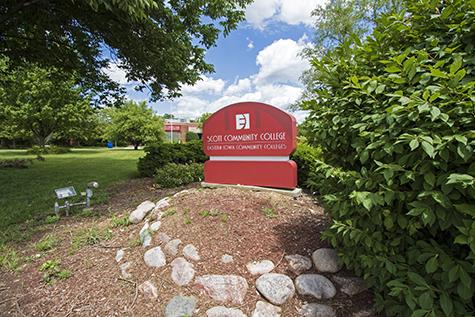 Scott Community College Outdoor sign