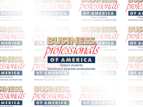 Business Professional of American Logo, Today's Students. Tomorrow's business professionals.