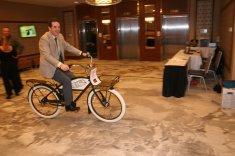Greg Harper Testing bike