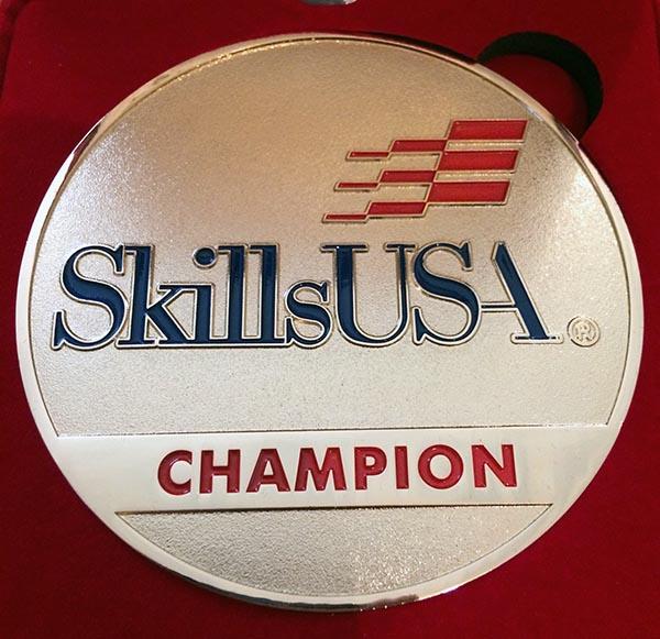 SkillsUAS Gold Medal