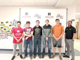 Future CCC students at West Liberty High School College signing event