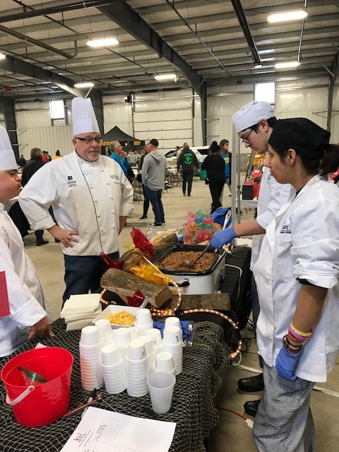 SCC Culinary students at Chili Cook-Off