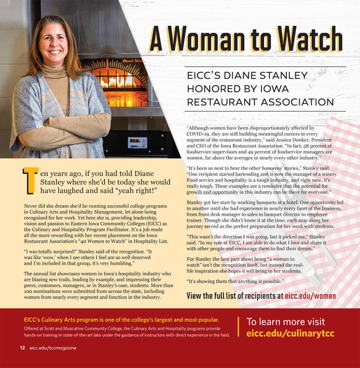 A Woman to Watch Magazine Layout