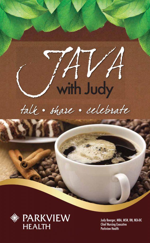Java with Judy Signage