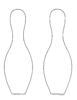 Bowling Pin Pattern Sheets