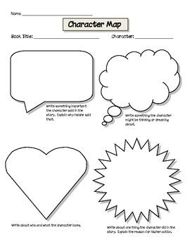 Character Map Worksheet