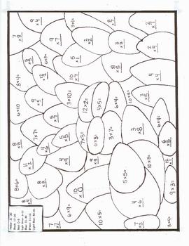 math coloring sheets : Medium Addition Math Message