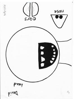 mother s day craft ideas: David School Craftivity Freebie