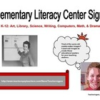 Set of Learning Center Signs