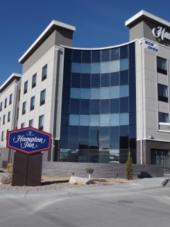 Glass work done by Tri-County Glass Inc. | Hampton Inn - Kearney, NE