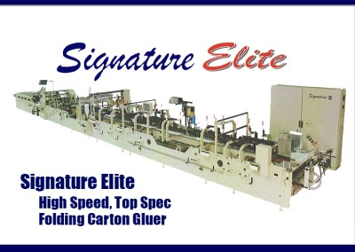 TCG Legacy purchases New Signature Elite Folder Gluer