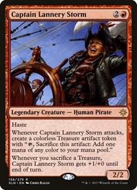 Captain Lannery Storm