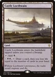 Castle Locthwain Throne of Eldraine Magic: the