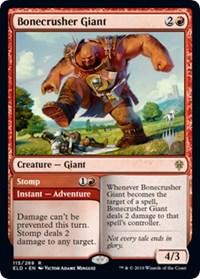 Bonecrusher Giant // Stomp (Showcase)