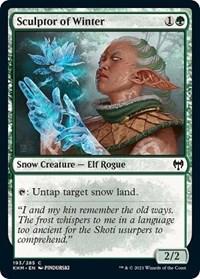 Sculptor of Winter