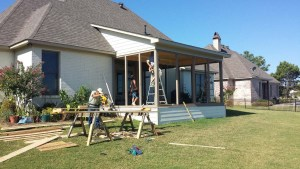 Lake Caroline - Camden Shores - Screened Porch Addition