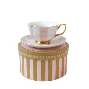 Teacup Stripe Blush Image - Tchaba
