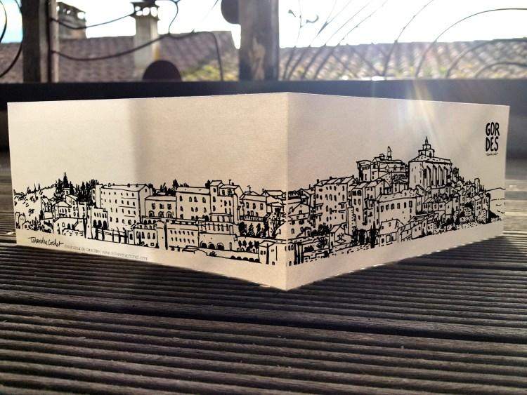 Carte postale créateur Gordes