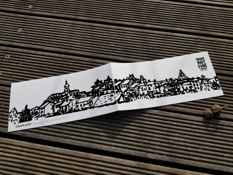 Carte postale créateur Saint-Antoine l'Abbaye