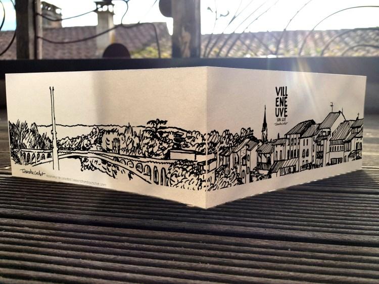 Carte postale créateur Villeneuve-sur-Lot