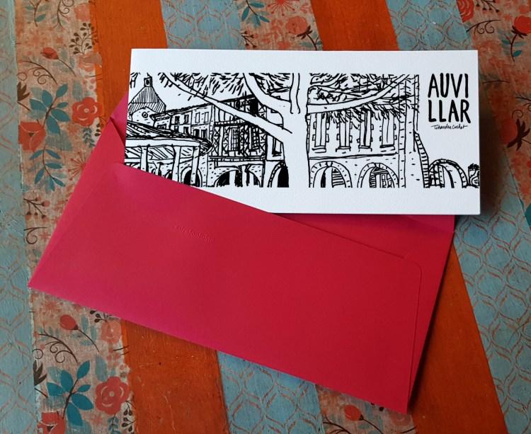 Carte postale createur Auvillar