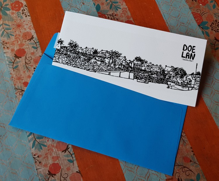 Carte postale createur Doelan