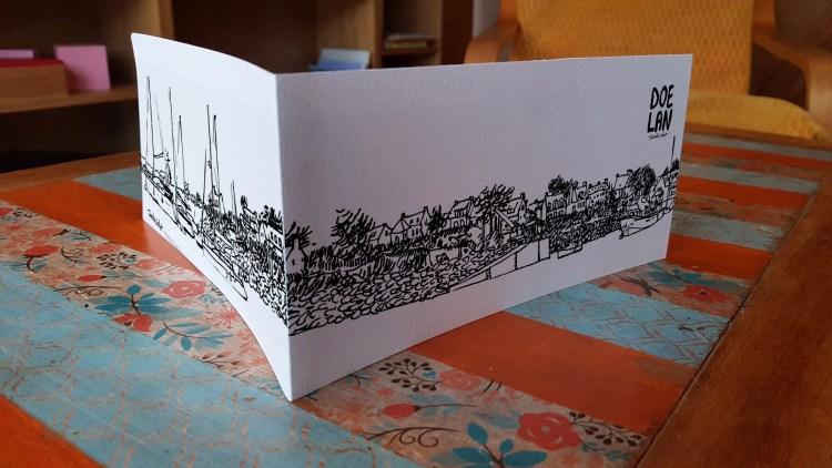 Carte panoramique Doelan