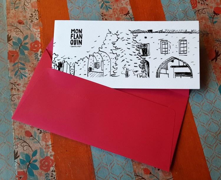 Carte postale createur Monflanquin