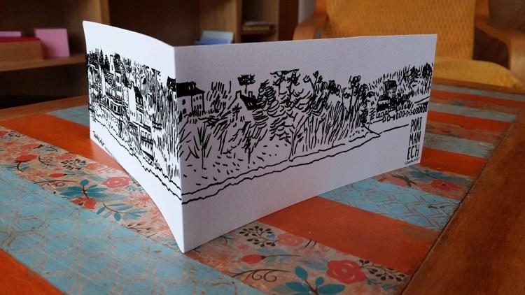 Carte panoramique Port-Manec'h