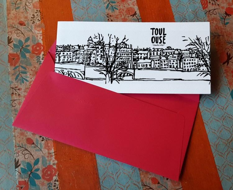 Carte postale createur Toulouse