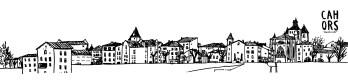 Carte panoramique Vieux Cahors