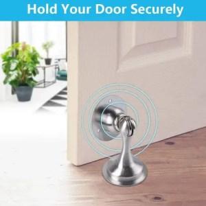 Floor-mounted Magnetic Door Stopper