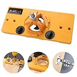 BI-D Tool Door Hinge Drilling Jig - Best Concealed Hinge Jig for Doors and Cabinet