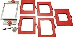 Milescraft 1214 Hingemate 200 - Best Door and Jamb Hinge Template Kit