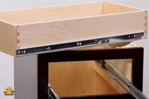 How To Install Side Mount Drawer Slides