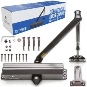 FORTSTRONG Commercial Door Closer FS-7600B - Best Hydraulic Screen Door Closer for Commercial Use