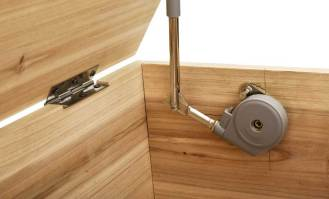 How to Install Soft Close Hinges on Toy Box