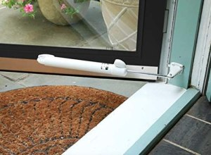 Touch 'n Hold Smooth - Dual Door Closer System - Heavy Duty Screen Door Closer