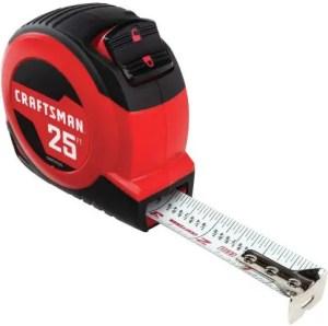 CRAFTSMAN CMHT37225S Tape Measure - Best Measuring Tape For Carpenters