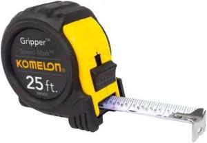 Komelon SM5425 Speed Mark Steel Blade Measuring Tape - Best For Fine Woodworking