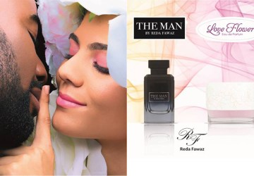 Affiche de Love Flowers & The Man by Reda Fawaz