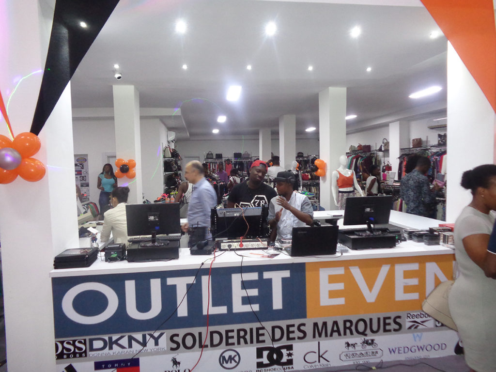 Inauguration de Outlet Event Angré