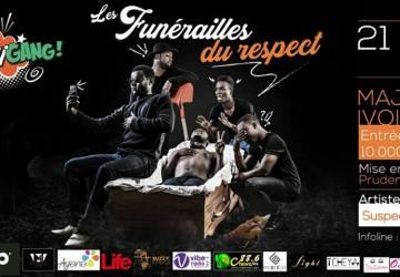 Affiche de papounigang - Funérailles du respect