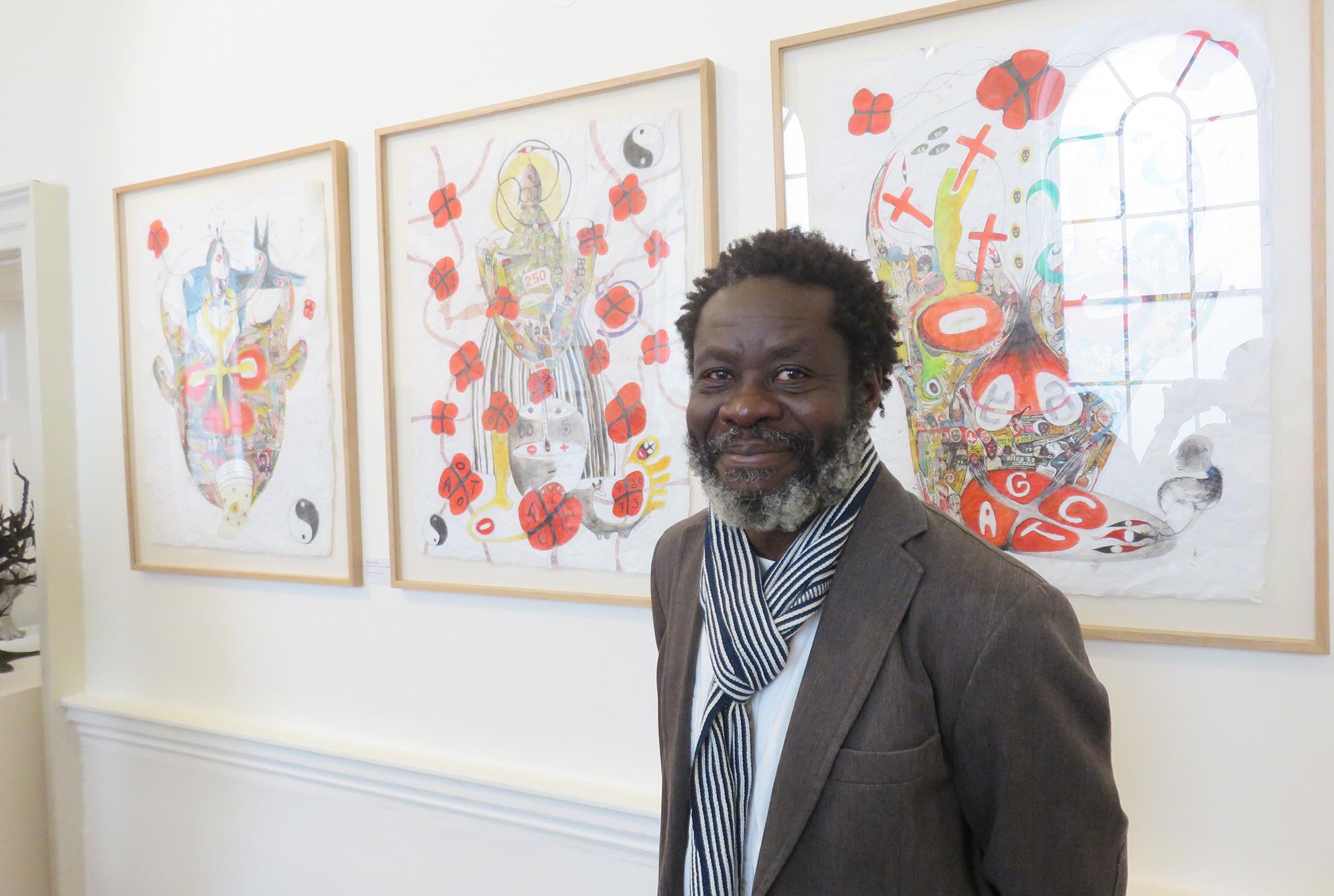 Ernest Dükü, Artiste Plasticien Ivoirien
