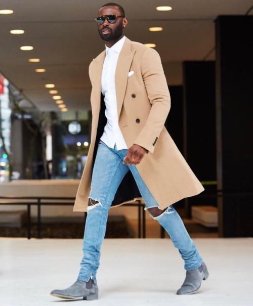 Streetwear et chelsea boot